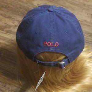 Polo by Ralph Lauren Accessories - Ralph Lauren Polo Flat Bill Strapback